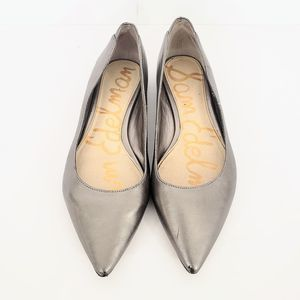 Sam Edelman Leather Pointed Toe Flats Size 6